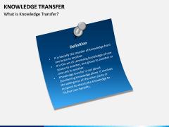 Knowledge Transfer PPT Slide 1
