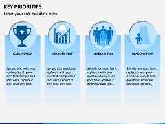 Key Priorities PPT slide 3