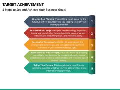 Target Achievement PPT slide 19