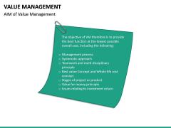 Value Management PPT Slide 24