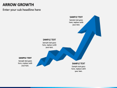 Arrow Growth PPT Slide 1
