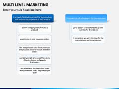Multi Level Marketing (MLM) PPT Slide 6