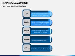 Training Evaluation PPT Slide 6