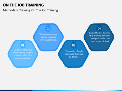 On the Job Training PPT Slide 7