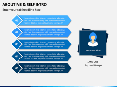 About Me / Self Intro PPT Slide 8