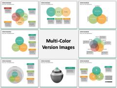 Venn Diagram Multicolor Combined
