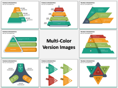 Triangle Infographics PPT Slide MC Combined