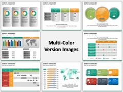Website Dashboard Multicolor Combined