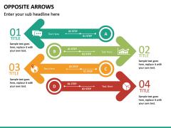 Opposite Arrows PPT Slide 21