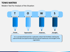 TOWS Matrix PPT Slide 1