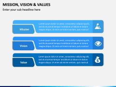 Mission, Vision and Values PPT Slide 23