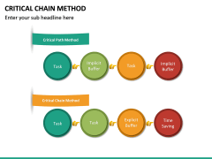 Criticial Chain Method PPT Slide 18