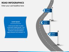 Road Infographics PPT Slide 4
