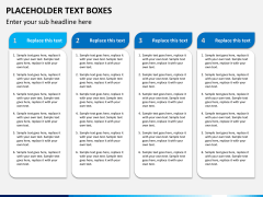 Placeholder text PPT slide 10