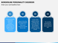 Borderline Personality Disorder (BPD) PPT Slide 12