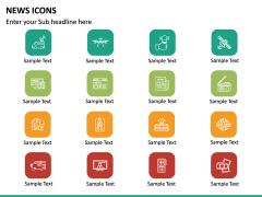 News Icons PPT Slide 14