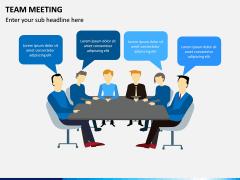 Team Meeting PPT Slide 3