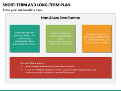 Short Term and Long Term Plan PPT Slide 27