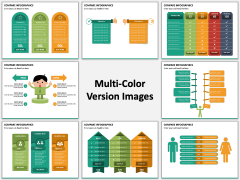 Compare Infographics PPT slide MC Combined