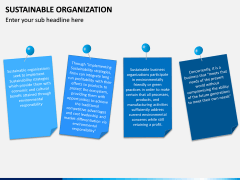 Sustainable Organization PPT Slide 14