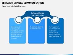 Behavior Change Communication PPT Slide 1