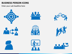 Business Person Icons PPT Slide 8