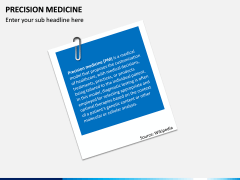 Precision Medicine PPT Slide 1