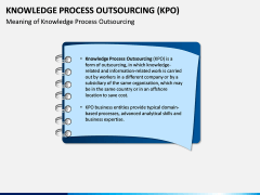 Knowledge Process Outsourcing (KPO) PPT Slide 1