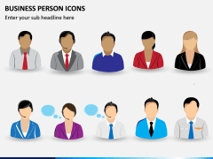 Business Person Icons PPT Slide 4