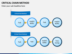 Criticial Chain Method PPT Slide 9