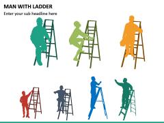 Man with Ladder PPT Slide 4