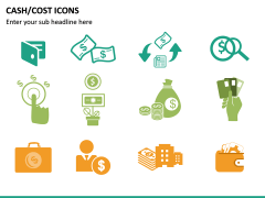 Cash Cost Icons PPT Slide 20