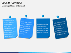 Code of Conduct PPT slide 4