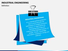 Industrial Engineering PPT Slide 1