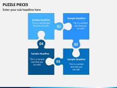 Puzzle pieces PPT slide 6
