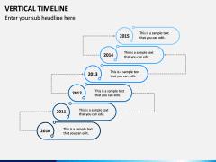 Vertical Timeline PPT Slide 13