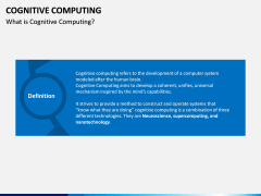 Cognitive Computing PPT Slide 2