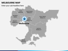 Melbourne Map PPT Slide 2