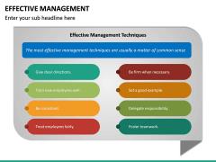 Effective Management PPT Slide 22