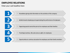 Employee Relations PPT Slide 13