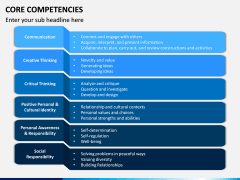 Core Competencies PPT Slide 9