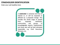 Stakeholder Identification PPT Slide 19