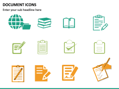 Document Icons PPT Slide 12