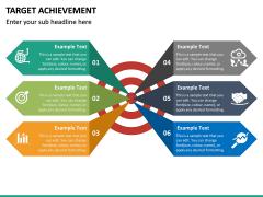 Target Achievement PPT slide 14
