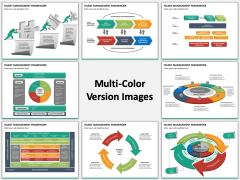 Talent management framework multicolor combined