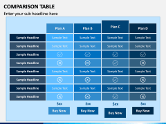 Comparison Tables PPT slide 5