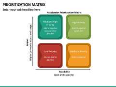 Prioritization Matrix PPT Slide 11