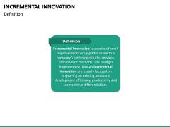 Incremental Innovation PPT Slide 13