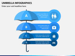 Umbrella Infographics PPT Slide 5