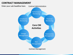 Contract management PPT slide 4
